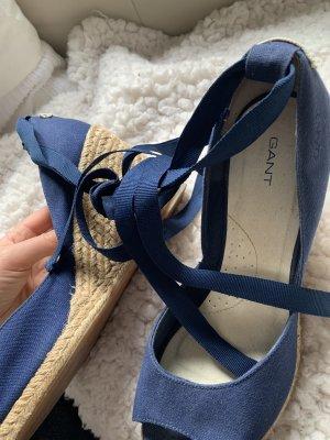 Gant Sandaletten mit Keilabsatz