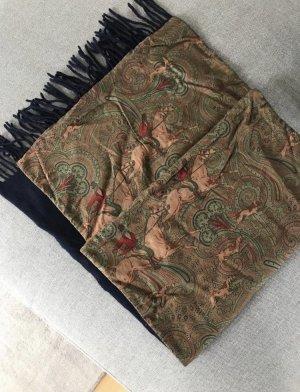 Gant Écharpe en laine multicolore
