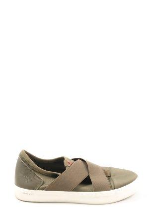 Gant Slip-on Shoes khaki casual look