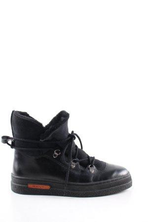 Gant Bottines à lacets noir style décontracté