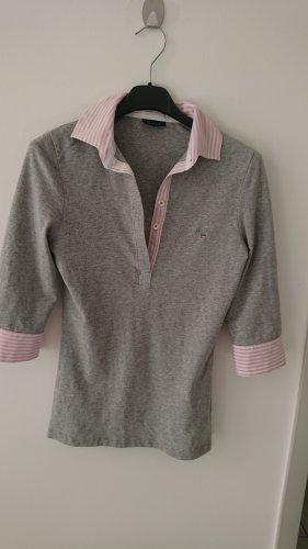 Gant Shirt 3/4 arm, grau-rosa, Gr.S, Neuwertig!!! NP 109€