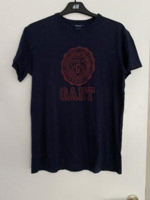 Gant Shirt T-Shirt mit Print Printshirt Gr. S College Style lässig