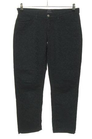 Gant Slim Jeans schwarz abstraktes Muster Casual-Look