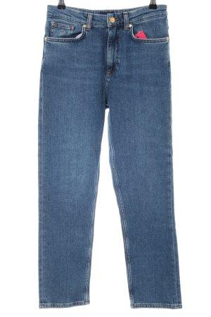 Gant Slim Jeans graublau Jeans-Optik