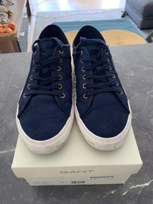 Gant Sneaker Schnürschuhe Marine blau Gr. 40