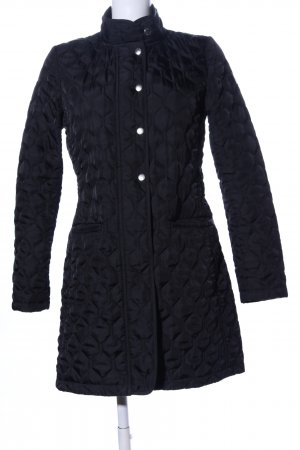 Gant Quilted Coat blue quilting pattern casual look