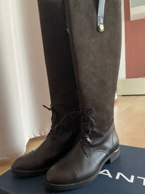 Gant Winter Boots bronze-colored leather
