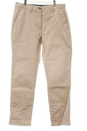 Gant Stoffhose creme-braun Casual-Look