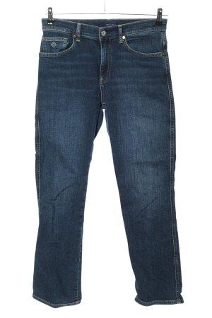 Gant Jeans a gamba dritta blu stile casual
