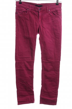 Gant Straight-Leg Jeans rot Casual-Look