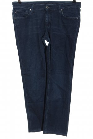 Gant Straight-Leg Jeans blau Casual-Look
