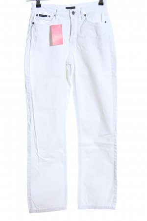 Gant Straight-Leg Jeans weiß Casual-Look