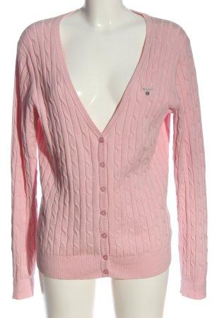 Gant Strick Cardigan pink Casual-Look