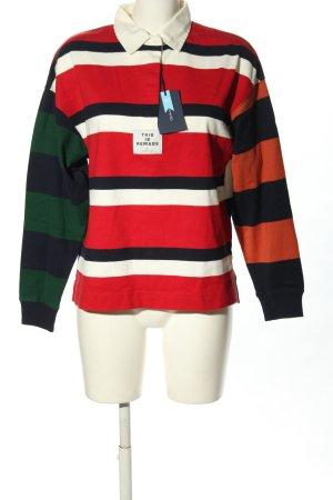 Gant Maglione lavorato a maglia motivo a righe stile casual