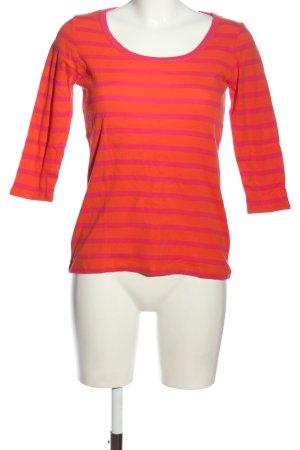 Gant Strickshirt rot-pink Allover-Druck Casual-Look