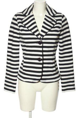 Gant Sweat Blazer black-white striped pattern casual look