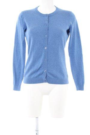 Gant Veste sweat bleu moucheté style décontracté