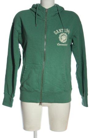 Gant Sweatjacke grün Casual-Look