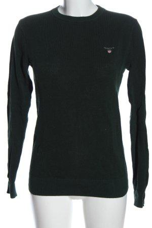 Gant Sweatshirt grün Casual-Look