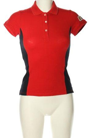 Gant T-Shirt rot-schwarz Motivdruck Casual-Look