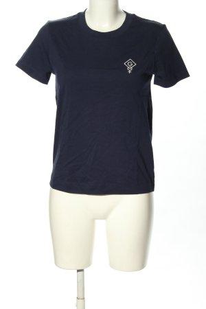 Gant T-shirt blu stile casual