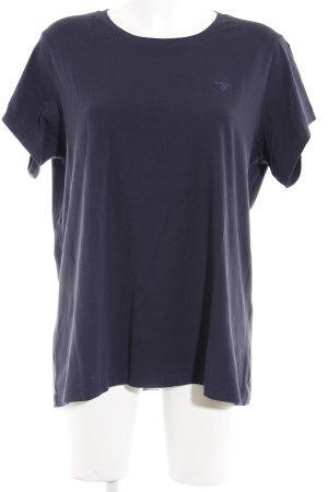 Gant T-Shirt dunkelblau Casual-Look