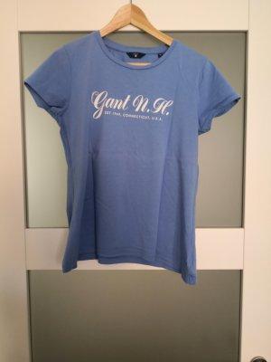 Gant T-shirt in blau