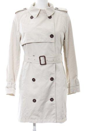 Gant Trenchcoat wollweiß Casual-Look