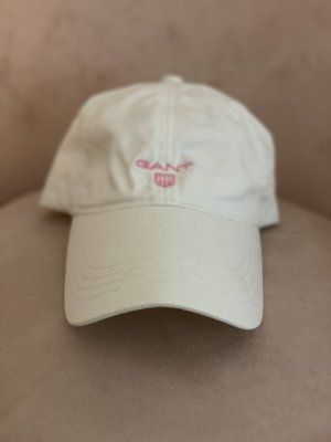 Gant Gorra de béisbol blanco-rosa claro Algodón