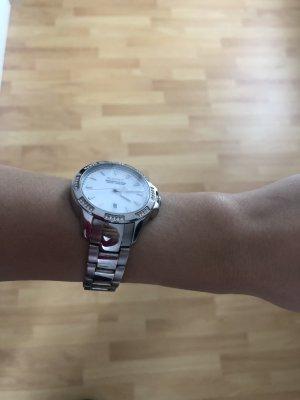 Gant Horloge met metalen riempje wit