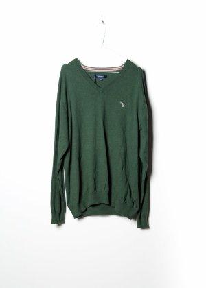 Gant Sweat Shirt green cotton