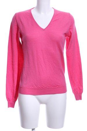 Gant V-Ausschnitt-Pullover pink Casual-Look