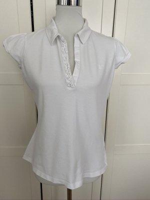 GANT verspieltes Polo Shirt Gr. L weiß