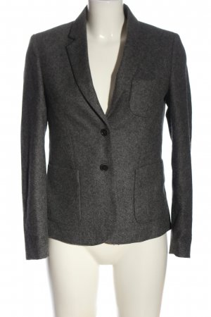 Gant Blazer in lana grigio chiaro puntinato stile casual