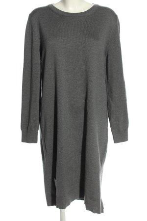 Gant Vestito di lana grigio chiaro stile casual