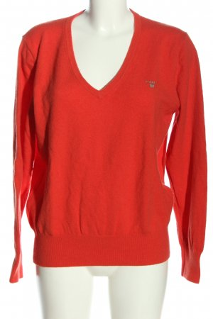 Gant Wollpullover rot Casual-Look