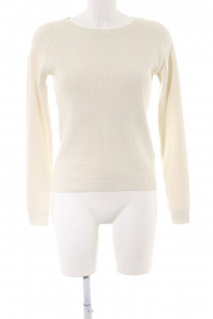 Gant Wollpullover creme Casual-Look