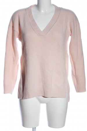 Gant Wollpullover pink Zopfmuster Casual-Look