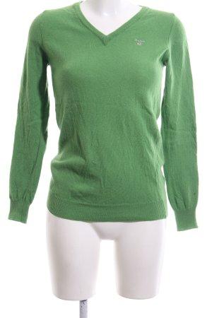 Gant Wollpullover grün Casual-Look