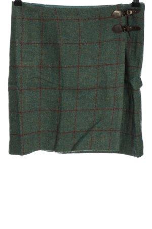 Gant Wool Skirt khaki-red check pattern casual look