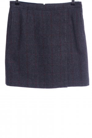 Gant Wool Skirt blue-red check pattern casual look