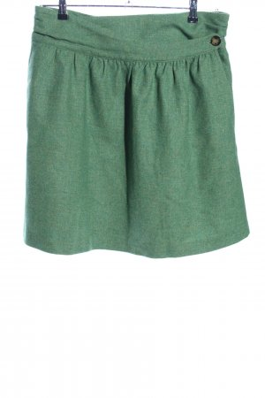 Gant Wollrock grün meliert Casual-Look