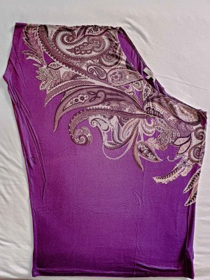 Bershka One Shoulder Top lilac