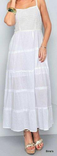 Ganz leichtes Baumwoll Sommerkleid (nicht durchsichtig) Größe XL. Ganz leichtes Baumwoll Sommerkleid (nicht durchsichtig)Größe XL Maße sind AA 45 cm... 120 cm Länge.. Neu mit Schild19 Euro.. ❤ Hinten gesmokt.. Neu mit Schild