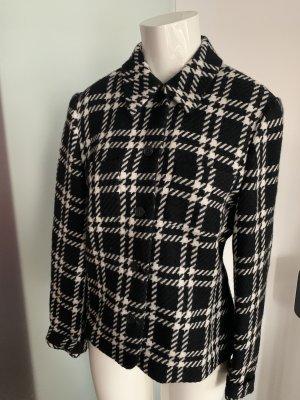 Verse Wool Jacket white-black wool