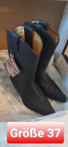 Ganz neu ( Ungetragene) Cowboystiefel Sancho Boots aus Leder (gr 37) ☆neupreis 260€