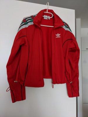 Adidas Chaqueta deportiva rojo