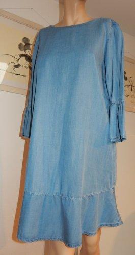 Mavi Vestido estilo flounce azul pálido