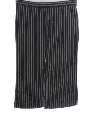 Gap 3/4 Length Trousers black-light grey allover print casual look