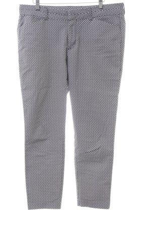 Gap 7/8-Hose schwarz-weiß grafisches Muster Casual-Look
